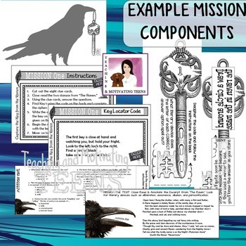 Quill Pens Clip Art - Color & B/W - Personal or Commercial Use