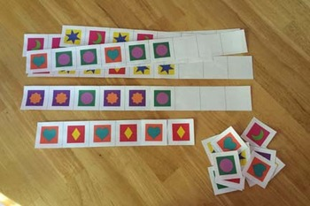 Quilt Block Patterning Strips (ABAB, AAB, ABB)