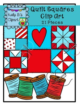 Quilt Square Clipart by Kelly B.'s Clipart