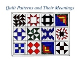 Quilt Codes of the Underground Railroad