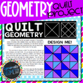 Quilt Geometry Transformations Activity; Translation, Reflection, Rotation