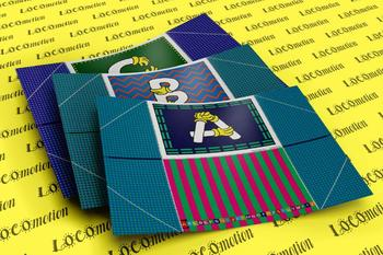 Quilt Hand Alphabet Display Case Packet