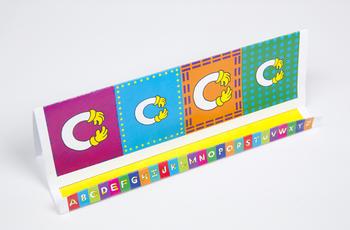 Quilt Hand Alphabet GrandStand: C