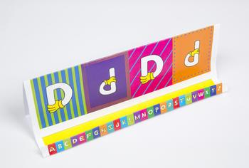 Quilt Hand Alphabet GrandStand: D