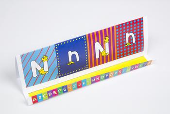 Quilt Hand Alphabet GrandStand: N