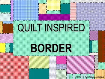 Quilt Inspired Borders