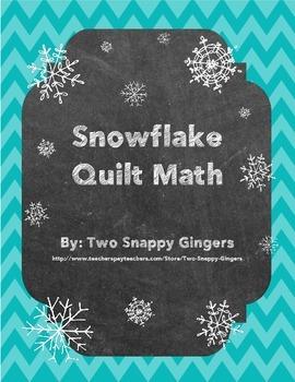 Quilt Math - Snowflake