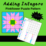Adding Integers Color Mystery Pattern