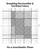 Quilt Pattern using Vertical & Horizontal Lines Graphed from Equations