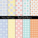 Pastel Quilt Patterns