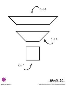 Quilt Quandaries - Basic quilt square puzzles for foam, felt, paper or fabric.