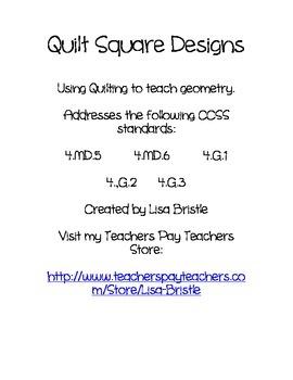 Quilt Square Geometry