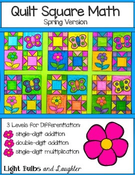 Spring Math Art - Quilt Square