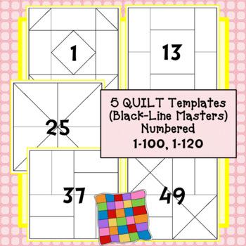 Quilt Templates - 100 Days