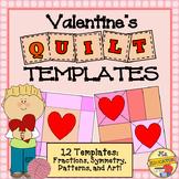 Quilt Templates - Valentine's Day