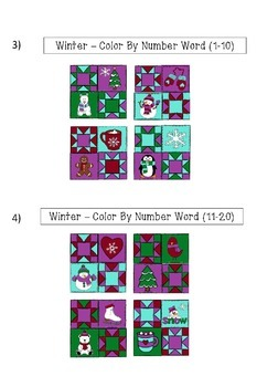 """Quilted Math - Seasons Bundle - (""""All Bundled Up"""")"""