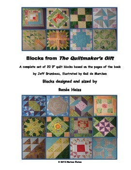 "Quilted Story Blocks from ""The Quiltmaker's Gift"""