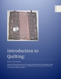 Quilting: Addressing common core reading standards & Ameri