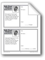 Quilts (Grade 4 Daily Word Problems-Week 32)