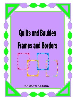 Quilts and Baubles Frames and Borders