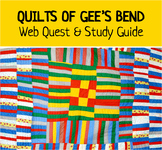 Quilts of Gee's Bend Art Alabama Black History Substitute