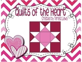 Quilts of the Heart Craft Activity for SMART Board