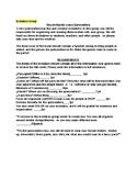 Quinceañera Class Project