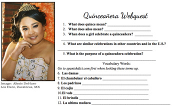 Quinceañera Unit Project