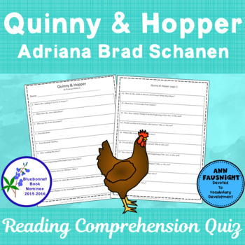 Quinny & Hopper: Reading Comprehension Quiz