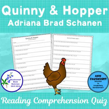Quinny & Hopper: Reading Comprehension Quiz