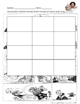 Quino Mafalda Using Future Tense  Futuro Simple usando Maf