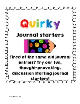 Quirky Journal Starters