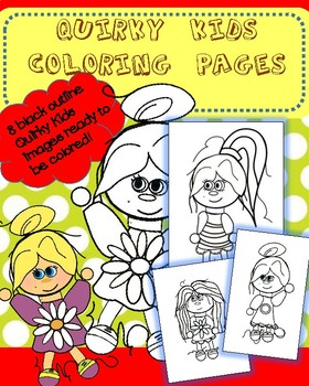 Quirky Kids Coloring Pages