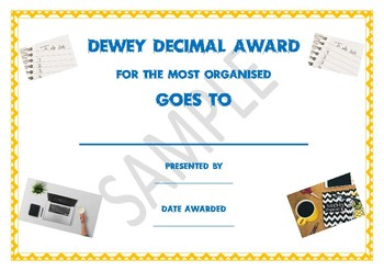 Quirky Teacher Awards (End of Year)
