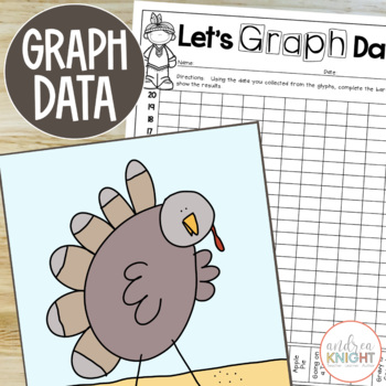 Quirky Turkeys:  A GLYPH & GRAPH Math Activity for Thanksgiving