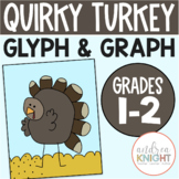 Thanksgiving Math Activity with Glyphs and Graphs (Quirky