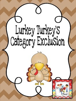 Quirky Turkey's Category Exclusion Game