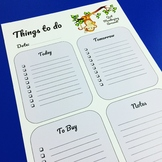 Quit Monkeying Around To-Do List