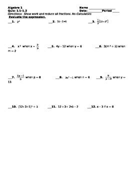 Quiz 1.1-1.2