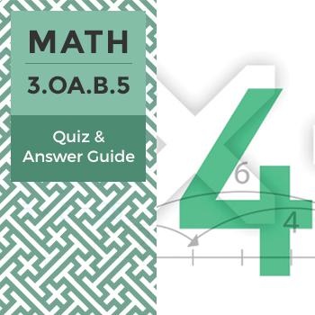 Quiz: 3.OA.B.5