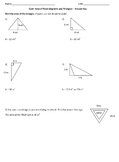 Quiz - Area of Parallelograms and Triangles