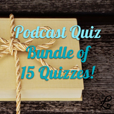 Quiz BUNDLE: 15 Quizzes!