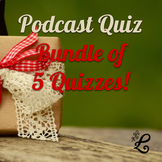 Quiz BUNDLE: 5 quizzes!