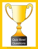 Quiz Bowl Questions