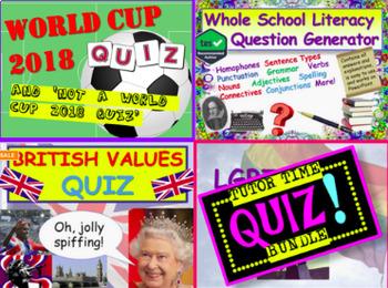 Quiz Bundle: Home Room Quizzes