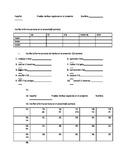 Quiz Bundle, Regular Present Verbs with SER, IR