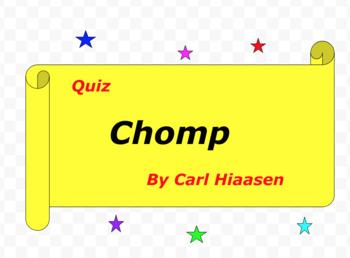 Carl Hiaasen Chomp