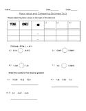 Quiz-Decimal Place Value