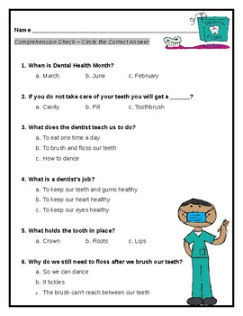 Quiz: Dental Health for First Graders