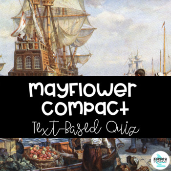 Quiz - Document Analysis of The Mayflower Compact
